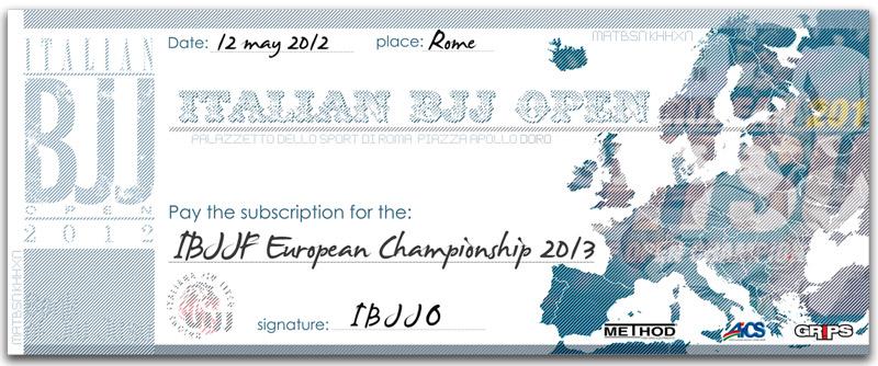 Italian Open di Brazilian Jiu Jitsu 2012 (UIJJ) 3
