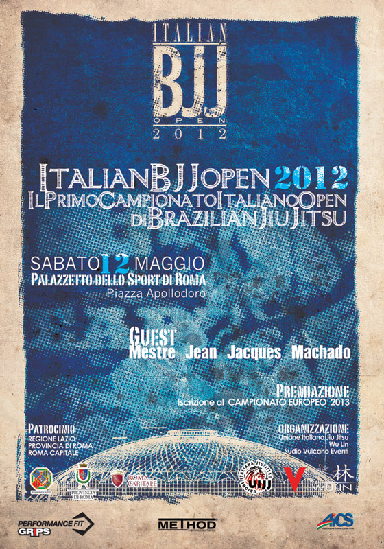 Italian Open di Brazilian Jiu Jitsu 2012 (UIJJ) 1