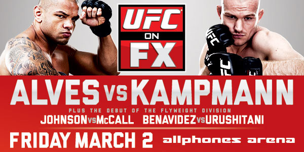 UFC on FX: Alves vs Kampmann Risultati 1
