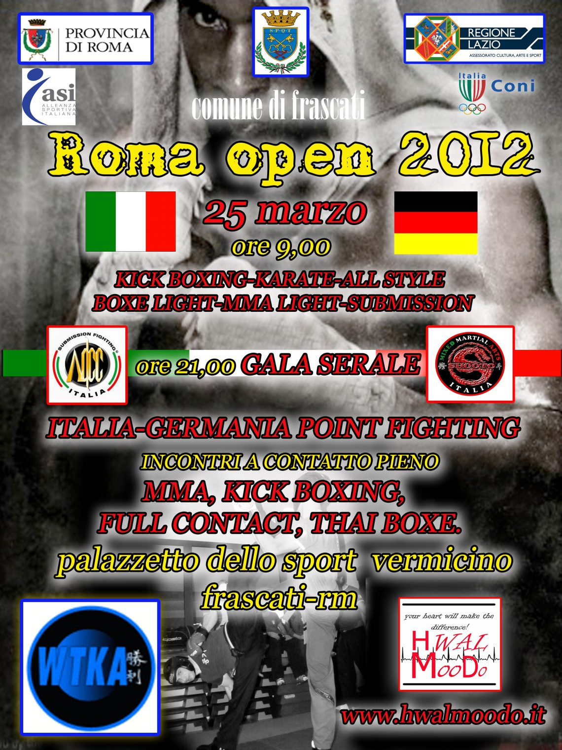 Roma Open 2012 MMA light & Submission (ADCC / Shooto) 1