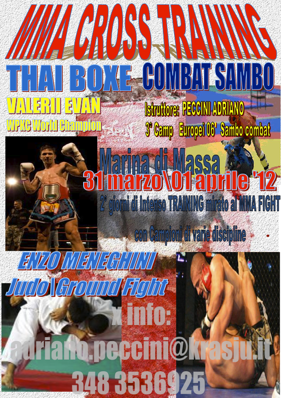 MMA Cross Training a Marina di Massa: Thai + Combat Sambo + Judo 1