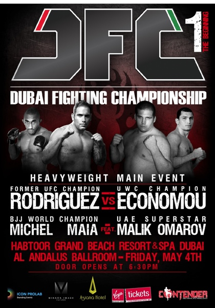 Dubai Fighting Championship: In bocca al lupo Matteo Piran & Fabricio Nascimento 1