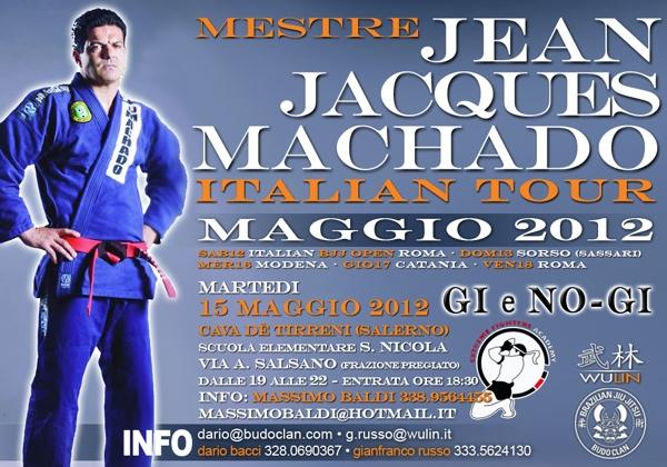 <b>Martedì 15 Maggio</b> Jean Jacques Machado a Cava de' Tirreni 1
