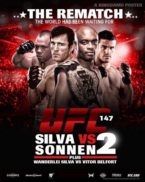 UFC 147 (Brazil) perde un pezzo: Anderson Silva vs. Chael Sonnen 1