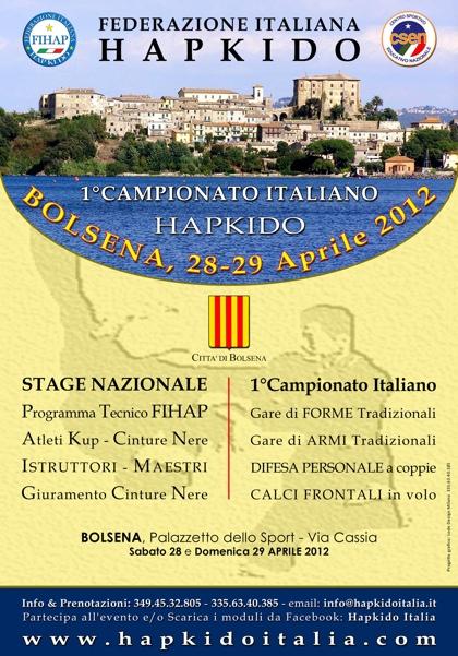 1 Campionato Italiano Hapkido 1