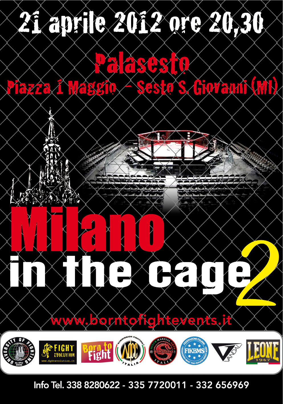 Milano in the Cage 2 - line up finale 1