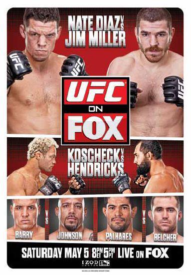 UFC on FOX 3: Diaz vs. Miller 1