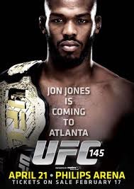 UFC 145: Jones vs. Evans - lineup 1
