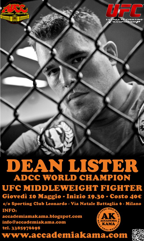 10 Maggio: Dean Lister is Back ! 1