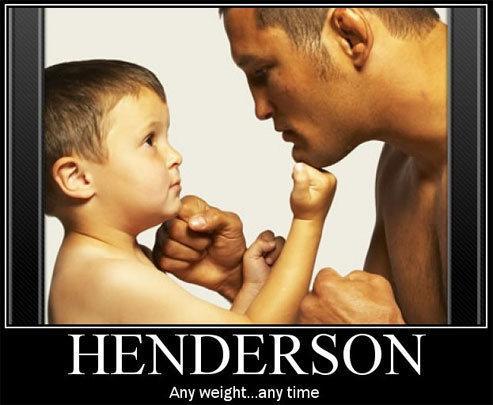 Dan Henderson per il Titolo UFC 1