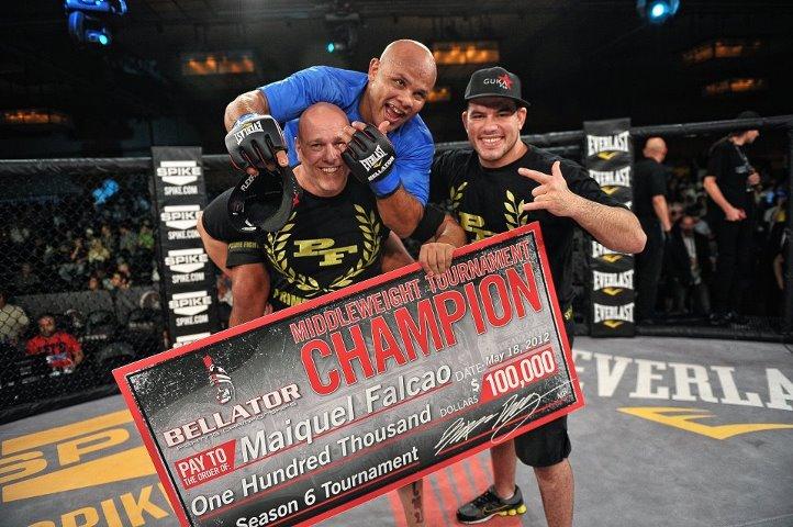 Maiquel Falcao vince il torneo dei pesi medi Bellator 1