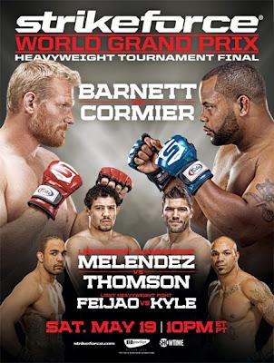 Strikeforce: Barnett vs Cormier: Risultati 2