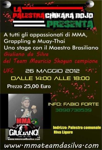 26 Maggio Stage di MMA a Riva Ligure 1