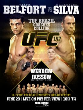 UFC 147 a Belo Horizonte 1