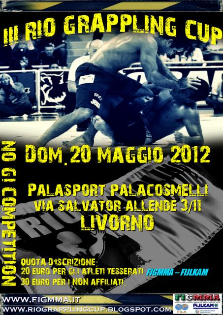 III Rio Grappling Cup - 20 Maggio 2012 1