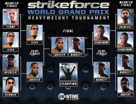 Strikeforce MMA: Barnett vs. Cormier in diretta su Eurosport 1