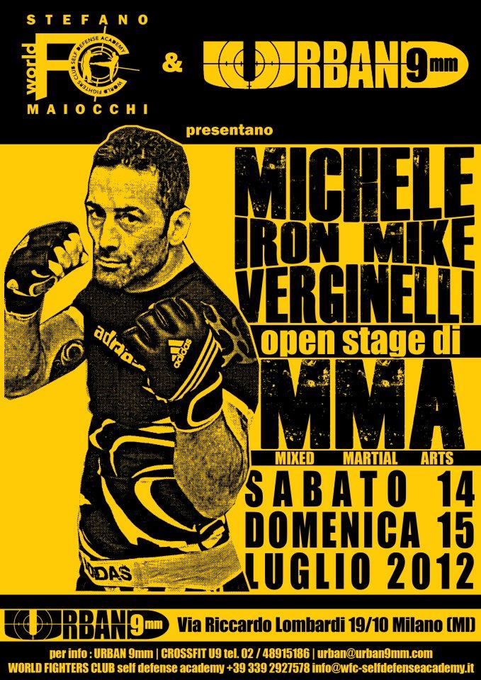 14-15 Luglio - seminario di MMA di Michele Verginelli a Milano 1