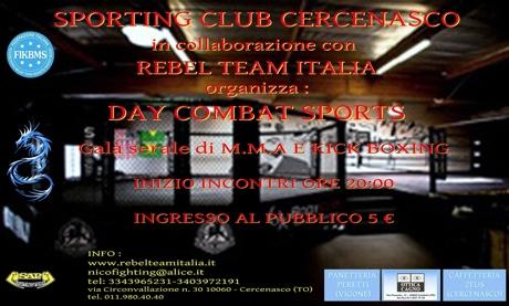 30 Giugno a Cernasco (TO) evento di MMA 1