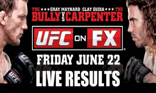 UFC on FX 4: Guida vs. Maynard 1