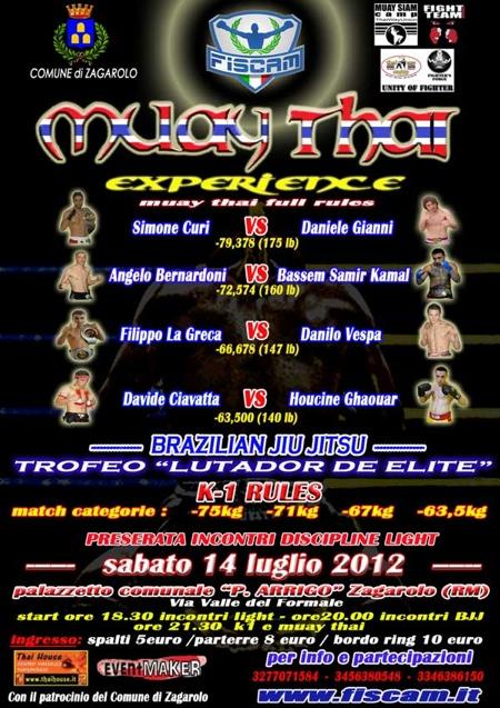 Domani a Roma: Lutador De Elite ! 1