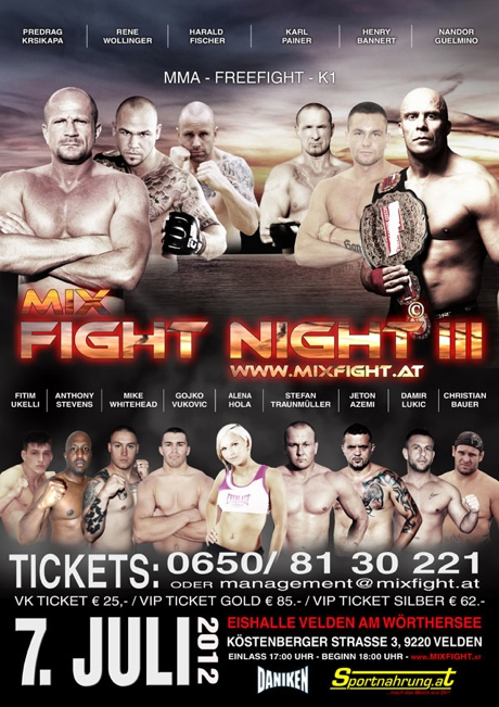 7 Luglio - Mix Fight Night III (austria) 1