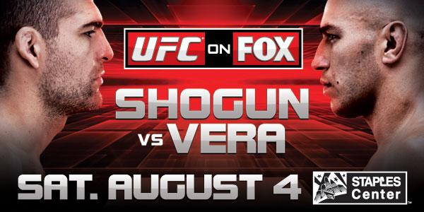 UFC on FOX 4: Shogun vs. Vera 1