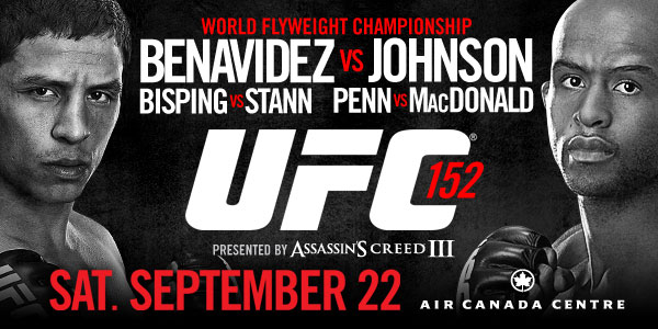 UFC 152: Benavidez vs. Johnson 1