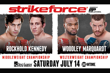 Strikeforce: Rockhold vs Kennedy su Eurosport 2 1