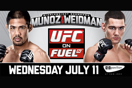 UFC on FUEL TV 4: Mark Munoz vs Chris Weidman 1