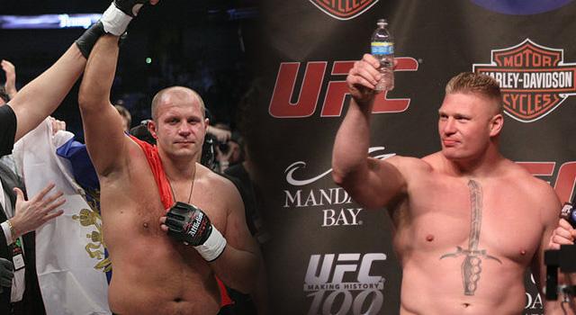 Dana White voleva Fedor Emelianenko vs Brock Lesnar 1