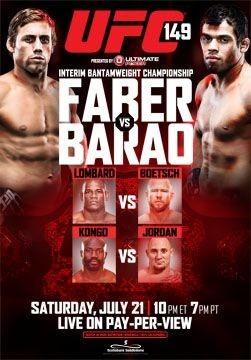 UFC 149: risultati rapidi 1