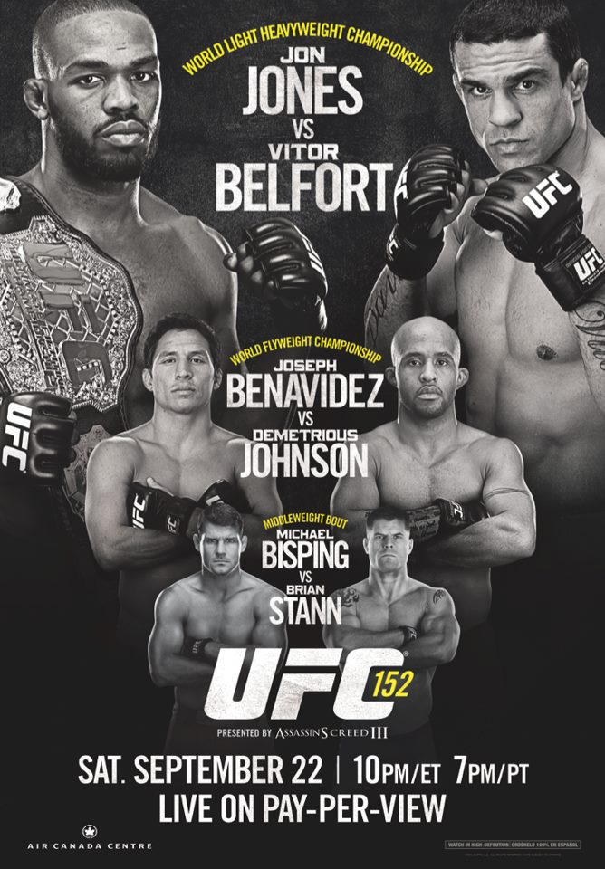 UFC 152: Jones vs Belfort - risultati 2