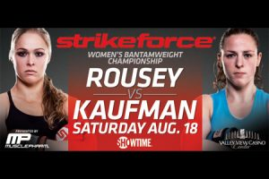 Strikeforce: Rousey vs Kaufmann risultati 2