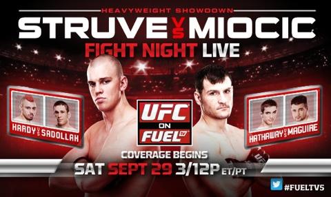 UFC on Fuel TV 5 - comunicato stampa ufficiale 1