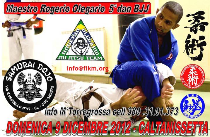 9 dicembre Maestro Rogerio Olegario a Caltanisetta 1