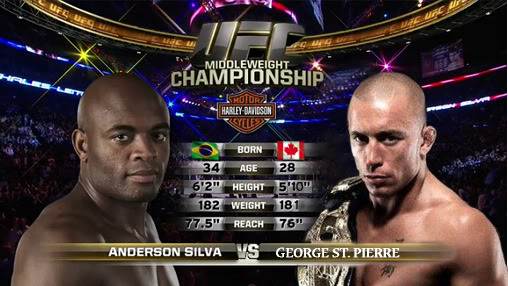 UFC: GSP vs Anderson Silva si farà in uno stadio... 1