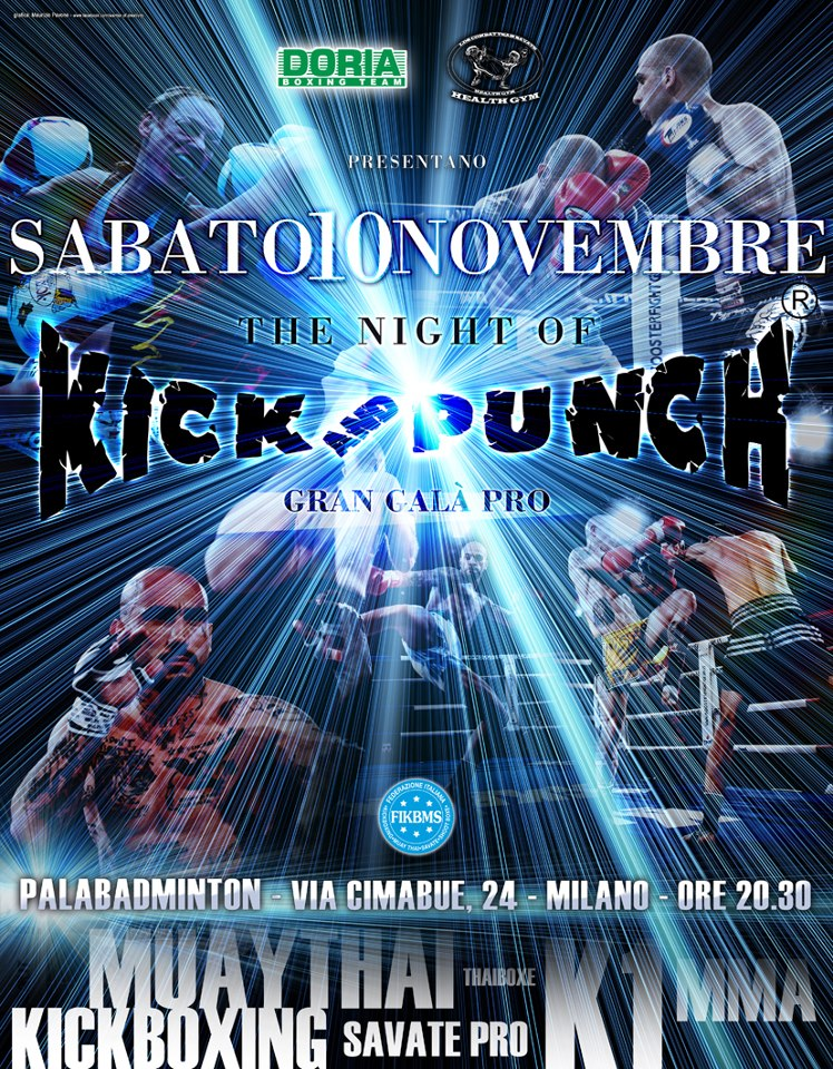 10 Novembre a Milano - The night of Kick and Punch 2  1