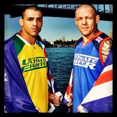 """TUF: Aus vs UK """"The Smashes"""""""