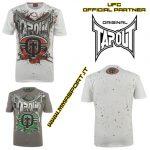 T-shirts TAPOUT bianca-rossa mmasport.it