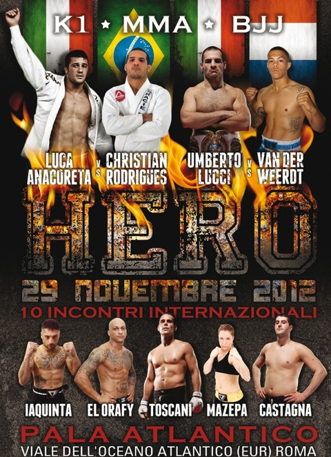 Hero FC 1 - Roma 29 novembre 1