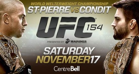 UFC 154: St-Pierre vs. Condit 1