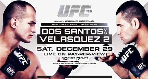 UFC-155-Jds vs Cain Velasquez risultati