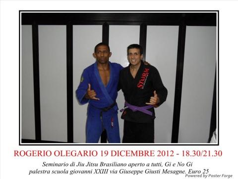 Rogerio Olegario a Mesagne - 19 dicembre 1