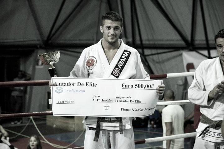Luca Anacoreta al BJJ Kumite 1