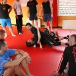 Report seminario catch wrestling con Mike Raho 2