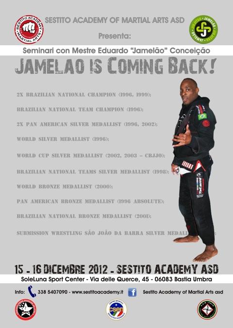 jamelao coming back