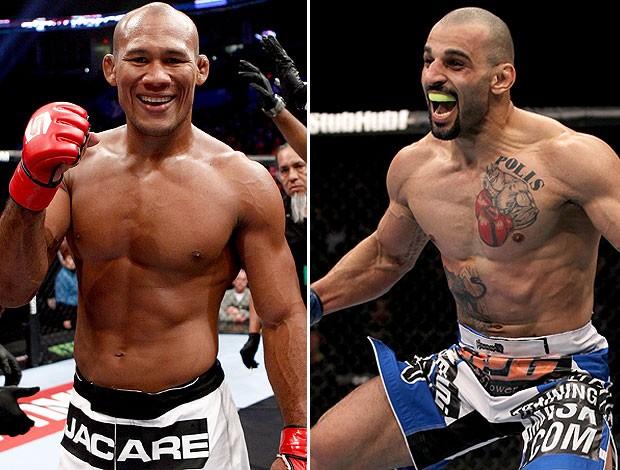 Jacare contro Costas Philippou a UFC on FX 8 1