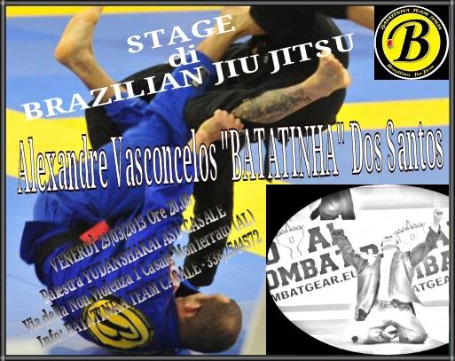 "Stage di brazilian jiu jitsu con il M. Alexandre Vasconcelos ""BATATINHA"" dos Santos a Casale Monferrato (AL) (29.3.2013) 1"