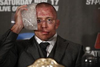 GSP era infortunato e malato contro Diaz 1