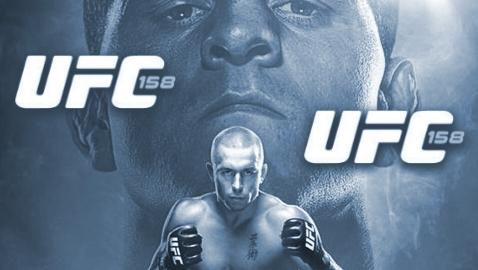Risultati UFC 158 GSP vs Diaz 1